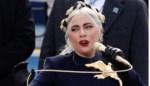 Lady Gaga draagt 'Gentse strop' in haar haar tijdens eedaflegging Joe Biden