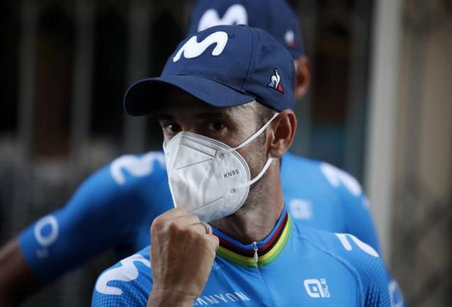 """Alejandro Valverde herhaalt: """"Ik start met het idee dat dit mijn laatste jaar is"""""""