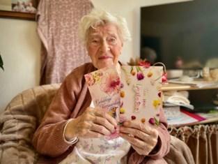 """Wiezeke (105) hoopt op verjaardagskaartjes nu ze thuis geen bezoek mag ontvangen: """"Die wensen zijn belangrijker dan ooit"""""""