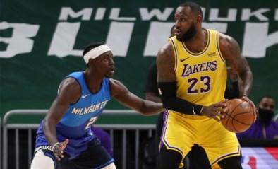 LeBron James leidt LA Lakers met seizoensrecord naar achtste uitzege op een rij