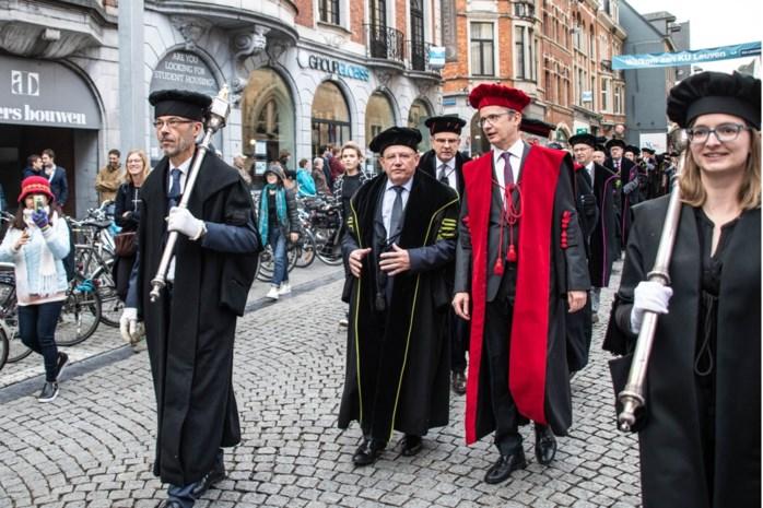 Voor het eerst sinds Tweede Wereldoorlog blijven toga's in de kast: KU Leuven stelt stoet der togati en uitreiking eredoctoraten uit