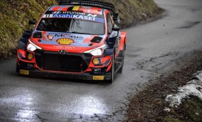 """Thierry Neuville beperkt de schade op dag twee in Rally van Monte Carlo: """"Samenwerking loopt steeds beter""""<BR />"""