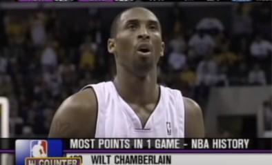 """Dag op dag 15 jaar geleden ging Kobe Bryant helemaal los met 81 (!) punten voor de LA Lakers: """"Nooit durven dromen"""""""