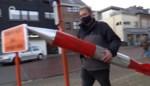 Actievoerder neemt de trein naar Brussel… met zijn kernraket