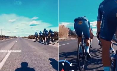 Snelheidstrein van Deceuninck - Quick-Step imponeert voor ogen van concurrentie