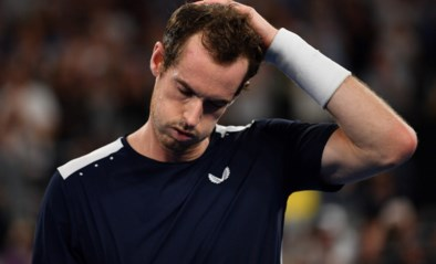 """Andy Murray bevestigt zijn forfait voor Australian Open: """"Niet mogelijk"""""""