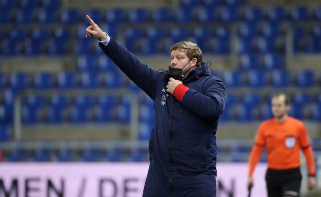 """Hein Vanhaezebrouck na gelijkspel tegen tien man van KRC Genk: """"Het kan vreemd klinken, maar eigenlijk moeten we blij zijn met dat punt"""""""