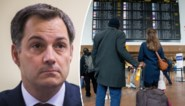 """""""Vertrek niet op reis"""": Overlegcomité maakt werk van verbod op niet-essentiële reizen, Europa gaat akkoord"""