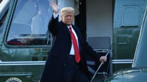 Zo spendeerde Donald Trump zijn eerste dag als president-af