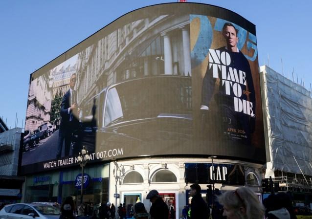 Nieuwe James Bondfilm uitgesteld tot 8 oktober