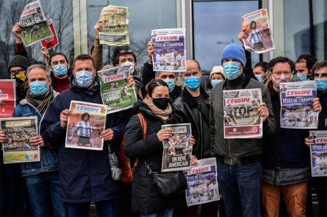 Na staking van veertien dagen: Franse sportkrant l'Equipe kan weer verschijnen