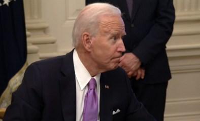 """Vraag van journalist schiet bij Joe Biden in het verkeerde keelgat: """"Doe even rustig, man"""""""