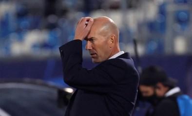 Opnieuw tegenslag voor Zinédine Zidane: coach van Real Madrid test positief op corona