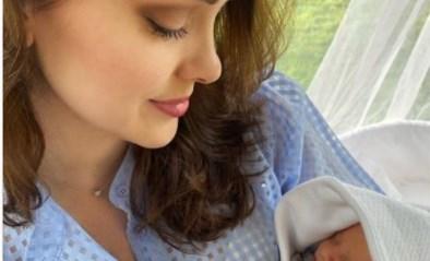Ex-Miss België Cilou Annys verwelkomt tweede kindje