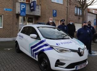 Politiezone neemt eerste elektrische auto in gebruik