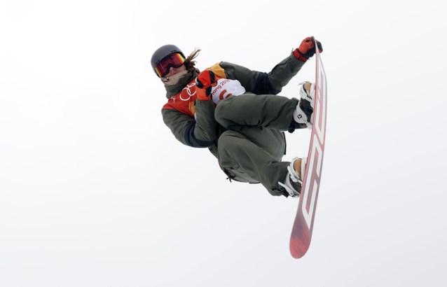 Sebbe De Buck grijpt net naast het podium tijdens wereldbeker snowboard in Laax