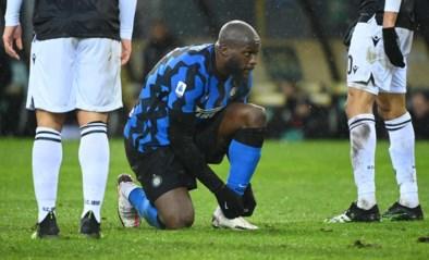 Lukaku laat met Inter Milaan leidersplaats liggen uit bij Udinese