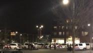 Jongeren protesteren met vuurwerk tegen Nederlandse avondklok net over de grens