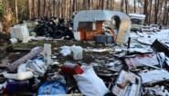 Kraker laat camping achter als stortplaats <BR />