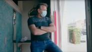 """Tom Waes achter het raam in Chaussée d'Amour: """"Absurditeit tot en met. Je kunt de prostitutie niet coronaproof laten verlopen"""""""