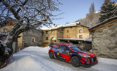 Ott Tänak krijgt na dubbele lekke band in Rally van Monte Carlo voorwaardelijke schorsing van een wedstrijd