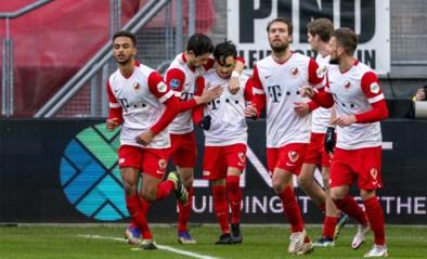 Belgisch belofteninternational Othman Boussaid scoort in de slotfase de winnende treffer voor FC Utrecht