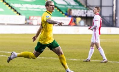 Belgische middenvelder Tirpan scoort tegen Ajax, maar gaat toch onderuit met Fortuna Sittard