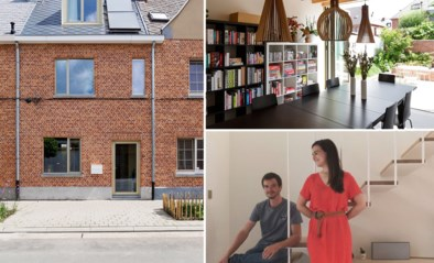 Een bad in de slaapkamer en de keuken in een doorgang: Eline en Simon maakten van een compact rijhuis een praktische gezinswoning