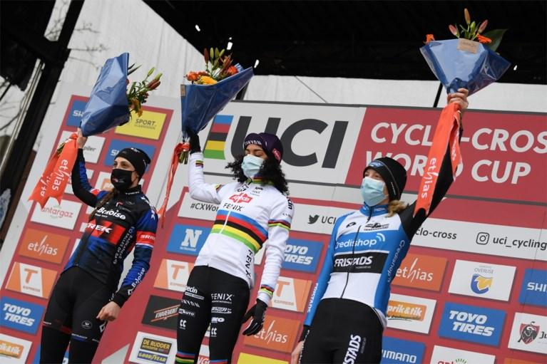 Ceylin Alvarado wint ook in Overijse en is helemaal klaar voor WK, Lucinda Brand wint Wereldbeker