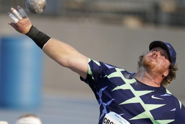 Amerikaan Ryan Crouser breekt 32 (!) jaar oud wereldrecord indoor kogelstoten