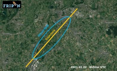 Meteoriet neergestort in ons land: ligt een stuk ervan in uw tuin?