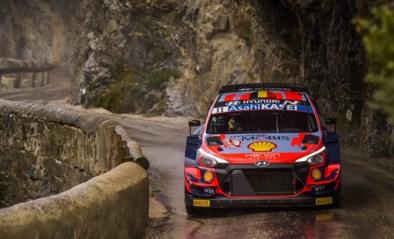 Thierry Neuville op weg naar podium in Rally van Monte Carlo