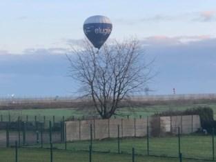 Verboden luchtballon boven luchthaven zorgt voor verbazing in ruime regio