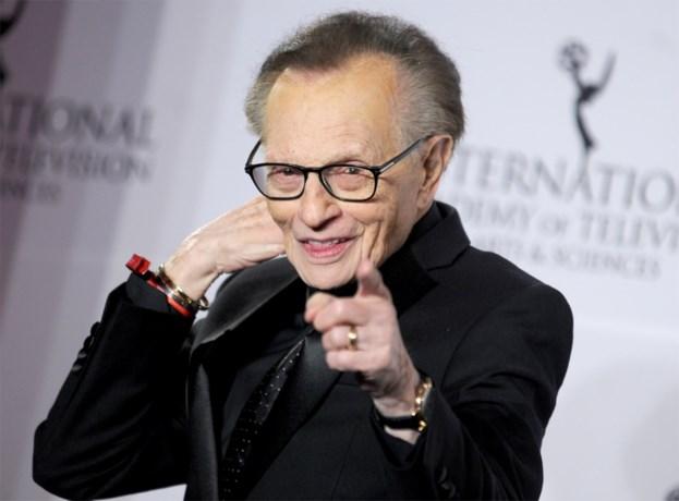 Legendarische talkshow-presentator Larry King (87) overleden