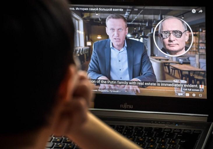 """President Poetin ontkent onthullingen over """"enorm privépaleis aan Zwarte Zee"""""""