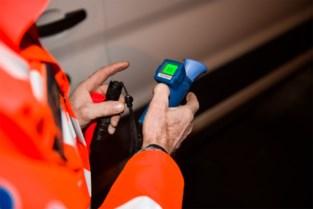 Vijf bestuurders onder invloed tijdens alcohol- en drugscontrole, ook meer dan tweehonderd snelheidsovertredingen
