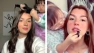 """Meisje (11) met syndroom van Down verovert TikTok met beautyfilmpjes: """"Beste haarstyliste"""""""