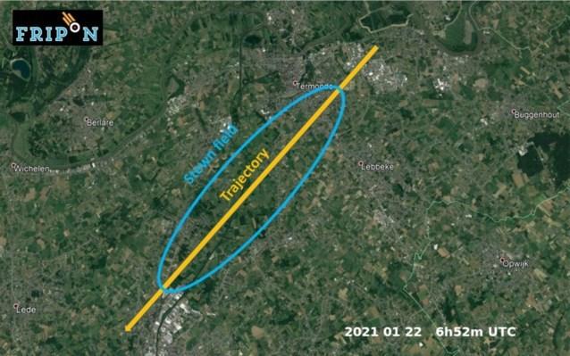 Meteorietinslag in België: ligt een stuk ervan in uw tuin?