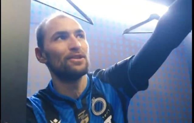 """Club Brugge-spelers dollen na winning-goal Brandon Mechele: """"Eigenlijk hebben wij Bas Dost niet nodig"""""""