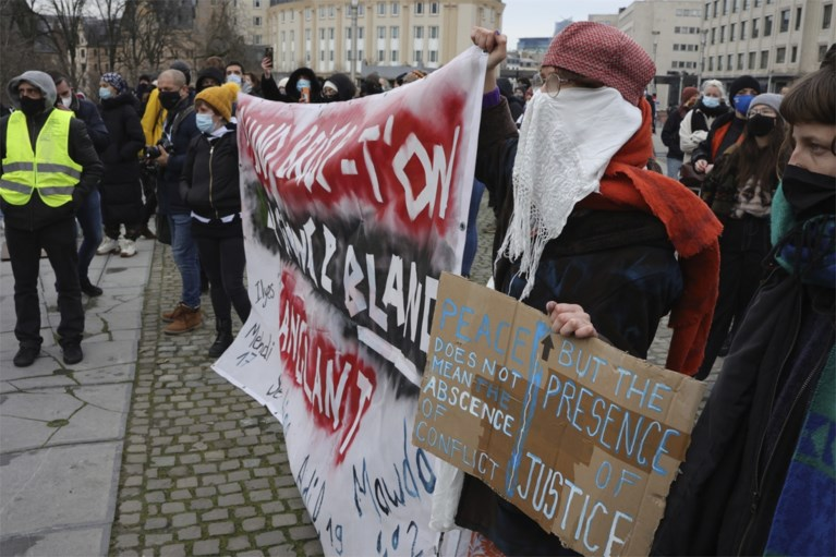 86 minderjarigen opgepakt bij betoging zondag in Brussel
