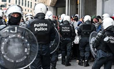 Recordaantal jongeren gearresteerd nadat betoging tegen klassenjustitie en politiegeweld in Brussel escaleert