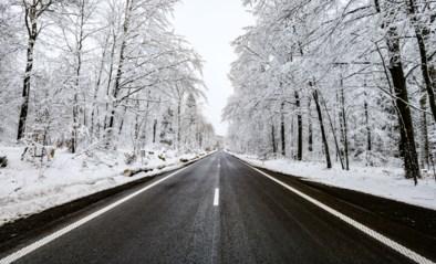 Ook deze week geregeld kans op sneeuw in ons land, KMI waarschuwt met code geel voor gladheid