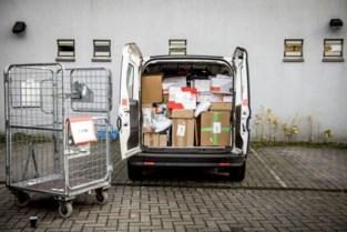 Dief (48) van bpost-bestelwagen snel ingerekend