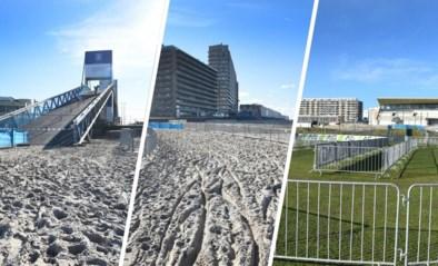 PARCOURS WK VELDRIJDEN 2021. Driedelige combinatie in Oostende: de steile brug, het strand en de snelle Hippodroom