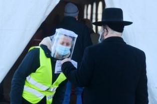 """Ruim 2.000 inwoners uit Joodse wijk laten zich testen: """"Dit is representatief"""""""