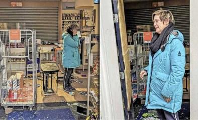 """De winkel van Maaike werd tijdens de rellen in Den Bosch kort en klein geslagen: """"Dit is gewoon terreur"""""""