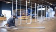 Opbouw Gents vaccinatiecentrum van start: tweeduizend gratis parkeerplaatsen voorzien
