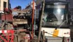 Tram ontspoord na botsing met vrachtwagen: chauffeur onder de indruk van ongeval