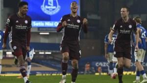 Youri Tielemans bezorgt Leicester City punt tegen Everton