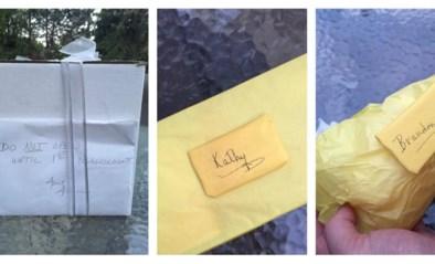 """""""Niet openen voor je eerste ruzie"""": koppel ontroerd door vreemd huwelijksgeschenk"""